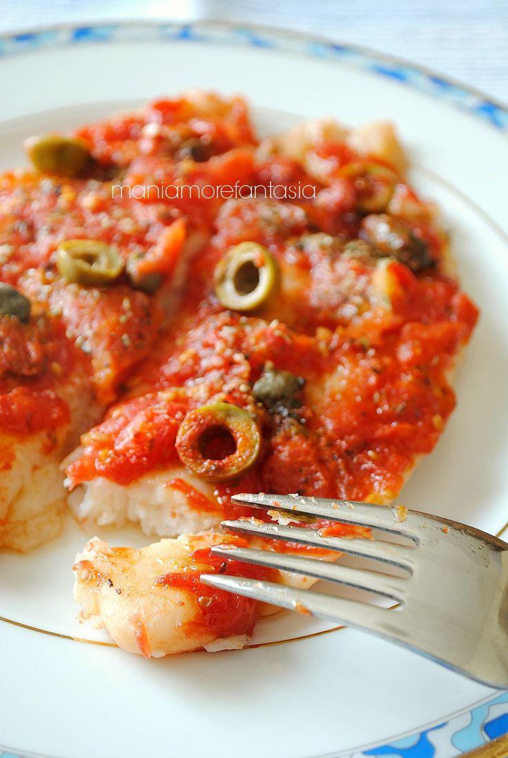 pesce persico alla pizzaiola
