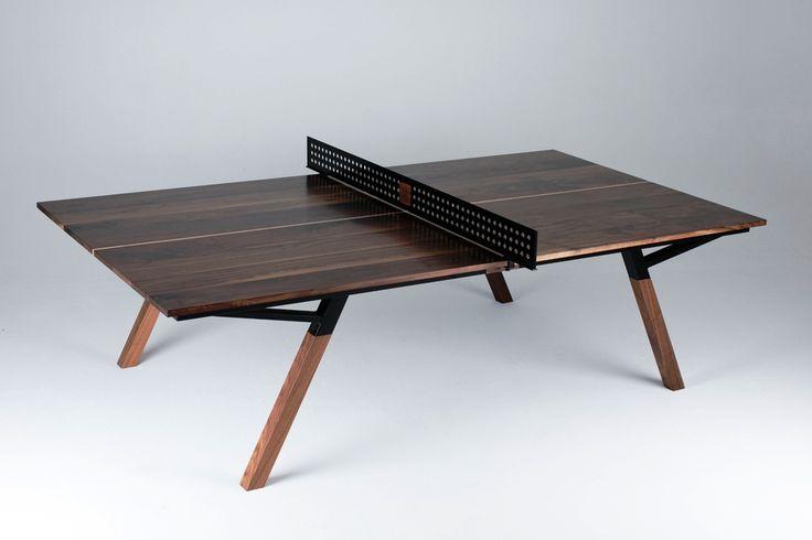Пинг-понг de luxe или знакомьтесь - Woolsey Ping Pong Table!