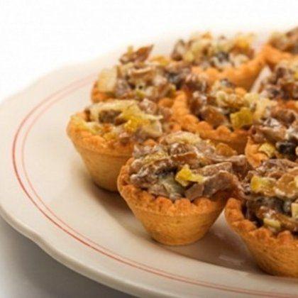 6 идей для грибных тарталеток