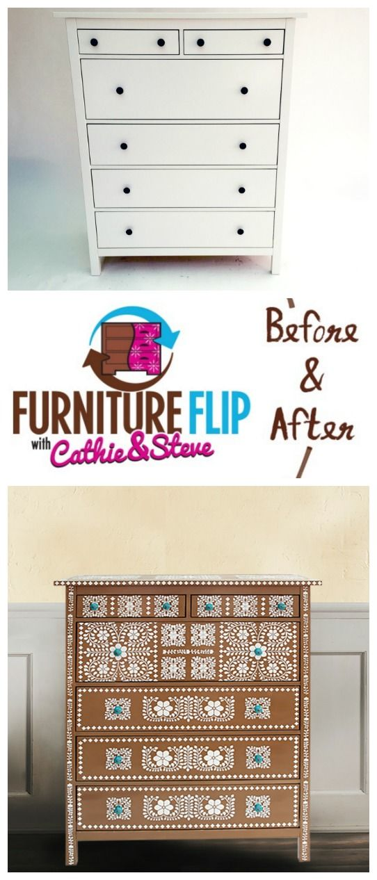 recreate furniture. cathie u0026 steve show you how to save thousands of dollars in this fun ikea hack the latest edition furniture flip recreate a gorgeous faux bone inlay