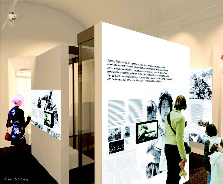 La Zone 5, Corée, du futur Musée Royal 22e Régiment #MR22eR #CitadelleQuébec #Ouvertureprintemps2014