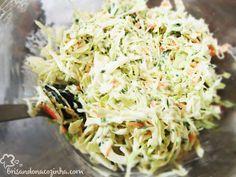 Brisando na Cozinha: Coleslaw (salada de repolho com maionese)