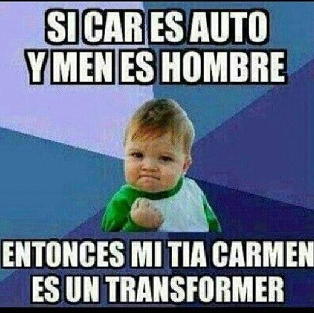 Meme chiste ingles-español