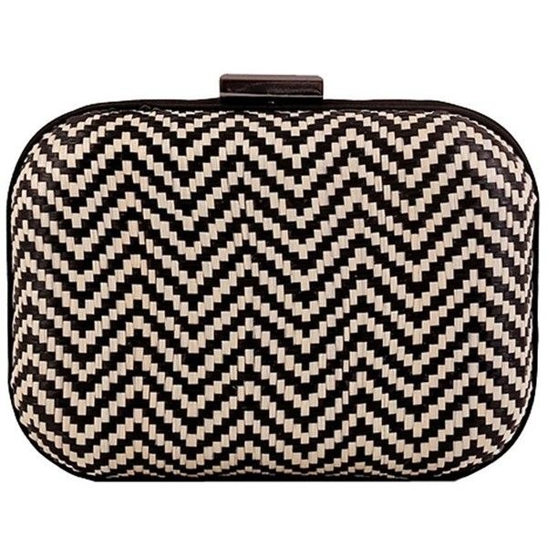 Women's Geometry Straw Crochet Evening Hardcase Vintage Clutch Ethnic... ($25) ❤ liked on Polyvore featuring bags, handbags, clutches, evening handbags clutches, vintage clutches, crochet purse, handbags purses and party clutches