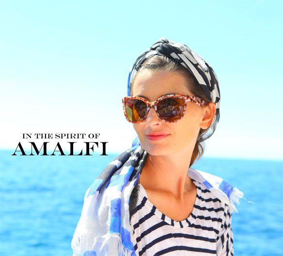 amalfi coast style; what to wear to the amalfi coast; how to wear stripes; in the spirit of capri - Kelly.