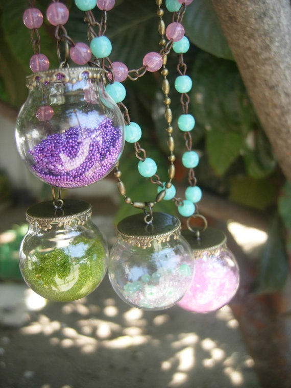The magic fairy crystal pendulums/vials with micro by eltsamp, $38.00