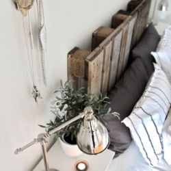 Repurpose pallets into beautiful items for your home, via stylizimo