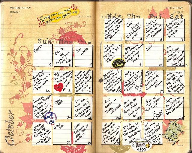 Art Journal Calendar Pages : Best images about journal ideas on pinterest art