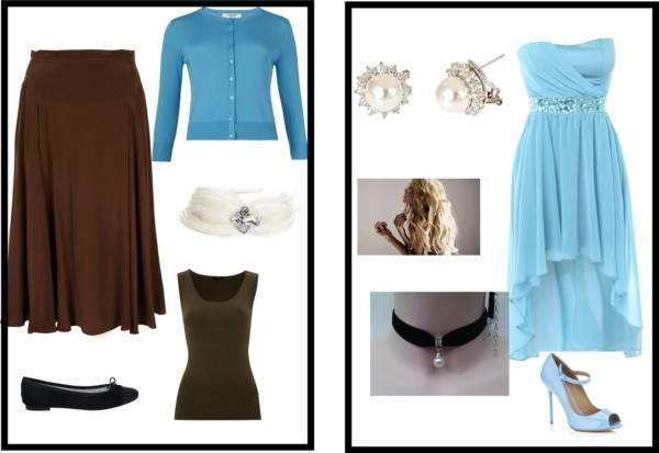 Cinderella from drab to fab, created by sarahutton on Polyvore