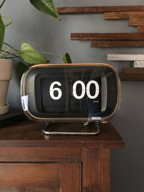 Rare COPAL 801 Flip Clock Large Made in by KesterwoodWorkshop