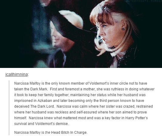 harry potter - narcissa malfoy