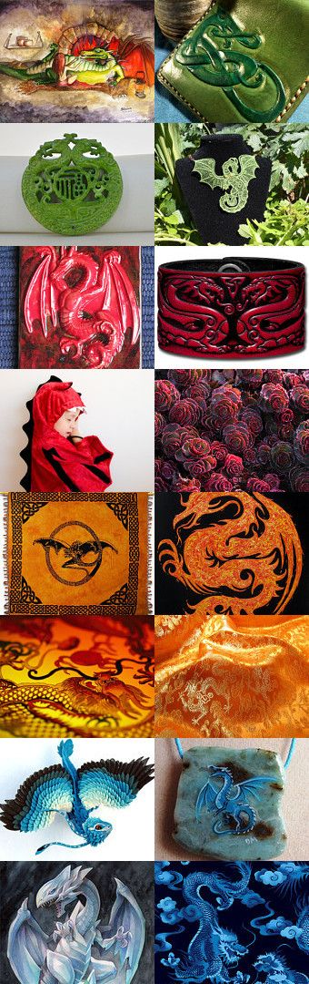 Dragon time by Anna Titova on Etsy--Pinned with TreasuryPin.com