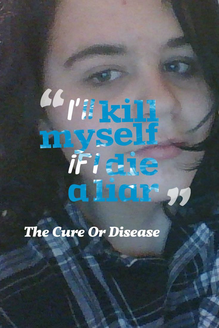 the cure or disease- fixing grammar and dying a liar lyrics