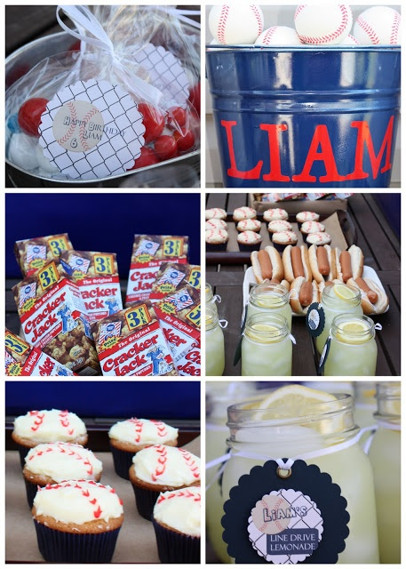 Five Lucky Charms: Liam's Baseball Party