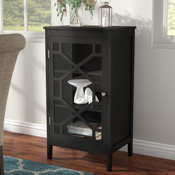 Zauber Small 1 Door Accent Cabinet With Images Accent Doors Living Room Cabinets Accent Cabinet
