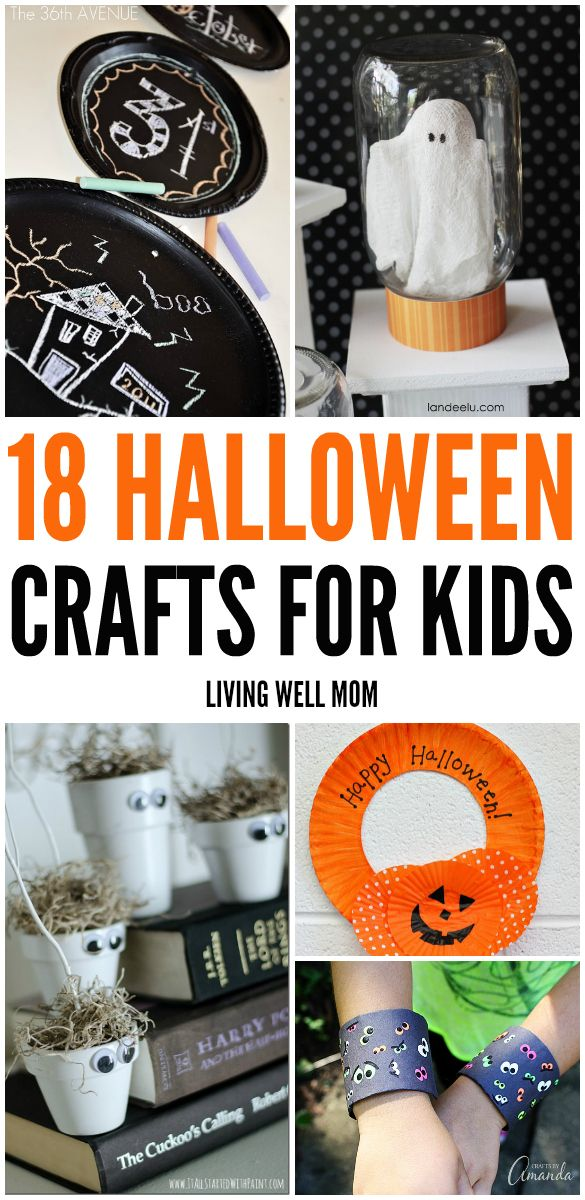 18 fun halloween crafts for kids