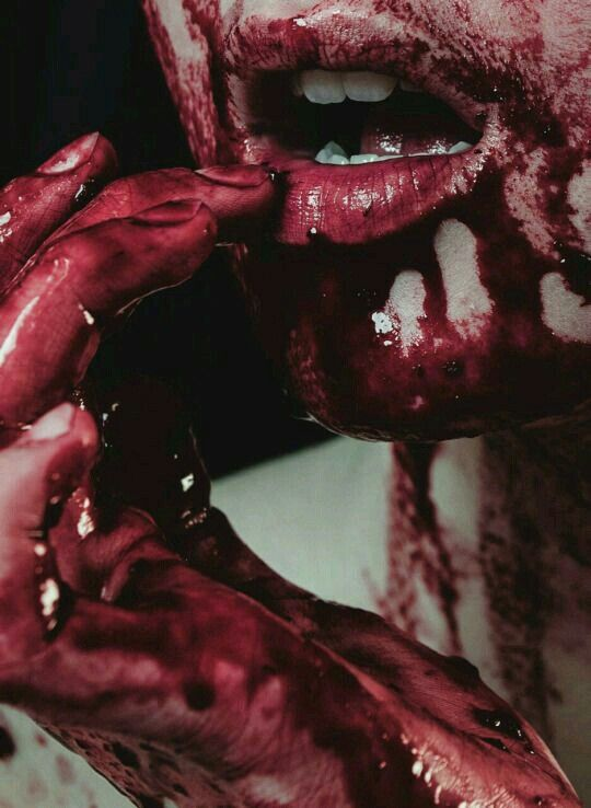 """""""Can't you feel my longing for you? That rapture that tastes so sweet"""" -from the poem Bloodlust"""