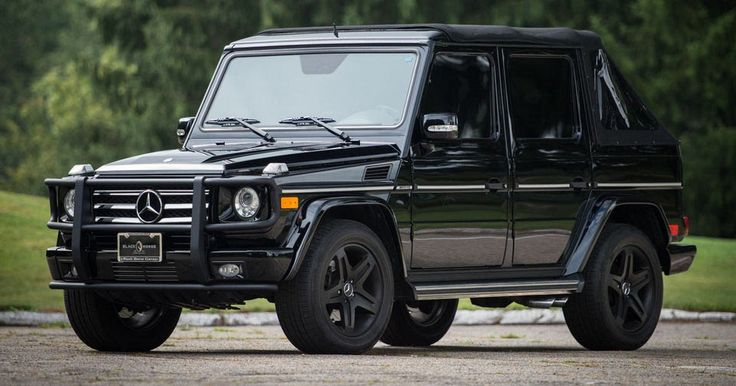 Bespoke Soft-Top Mercedes G55 AMG Can Be Yours For $118,000 #AMG #ebay