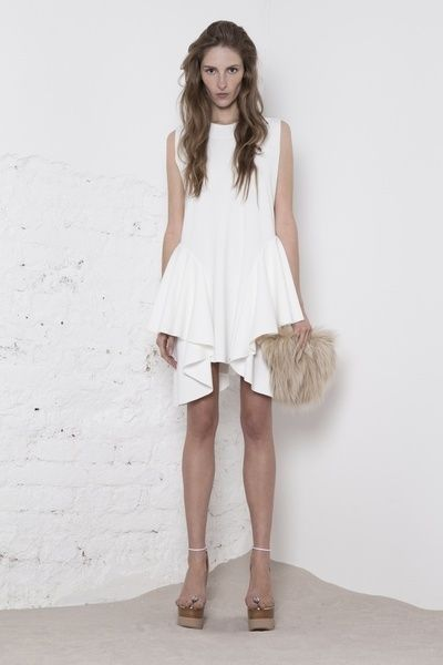 www.store.odivi.cz ODIVI circle dress white SS14
