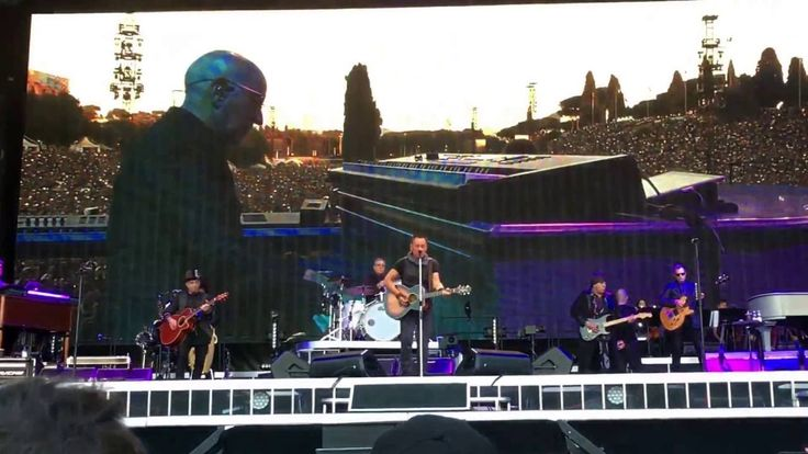 "HD Bruce Springsteen ""NYC New York City Serenade"" Rom/Roma 16.07.16"