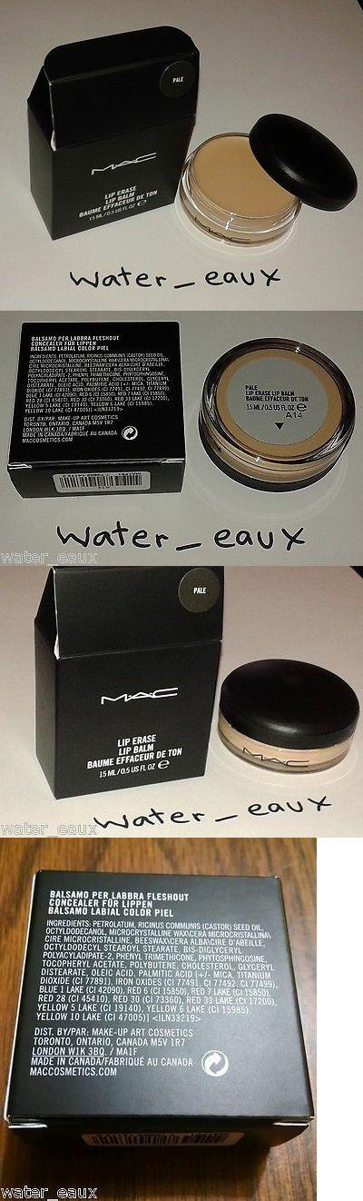 Lipstick Primer: Mac Pro Lip Erase Lip Balm Lipstick Primer Full Size Bnib Pale 100% Authentic BUY IT NOW ONLY: $32.0