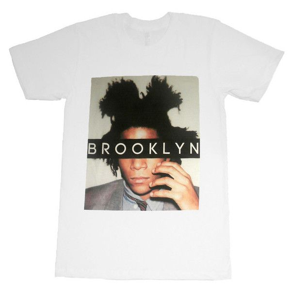 Brooklyn's Finest T-Shirt ($36) ❤ liked on Polyvore featuring tops, t-shirts, shirts, relaxed fit t shirt, relax t shirt, crew neck t shirt, white shirt and white cotton tee