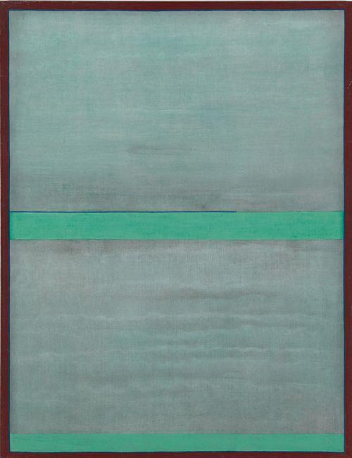 Stanislaw Fijalkowski, VII Martial Law, 1982 Acrylic on canvas, 115 x 88 cm