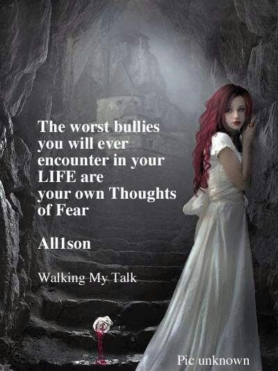how to stop fear from controlling your life
