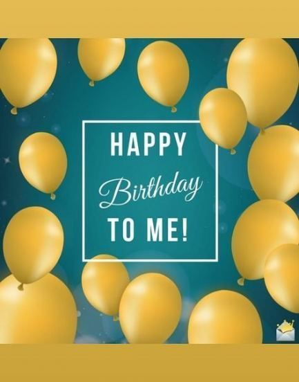 Birthday Wishes For Myself I Want 70 Ideas #birthday