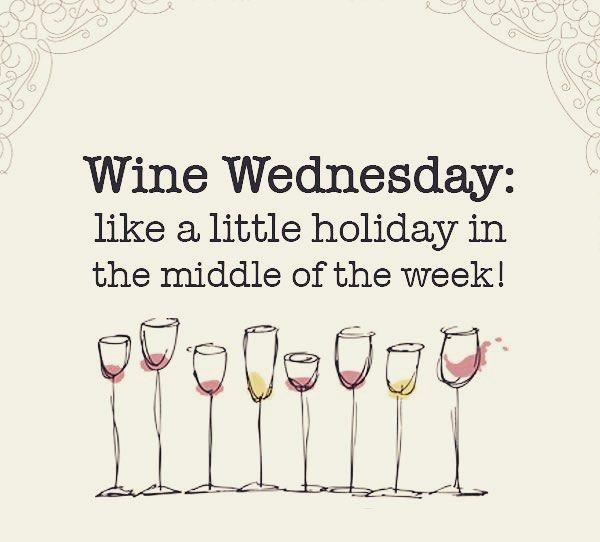 Ya estamos llegando a mitad de año y se hace cada vez más necesarias unas vacaciones. Cualquier excusa para relajarnos es válida!  No dejes pasar el Wine Wednesday un pequeño respiro en medio de la semana.  #winelover #Vacaciones #miercoles #vino