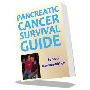 pancreatic cancer survival guide - http://whatispancreaticcancer.org
