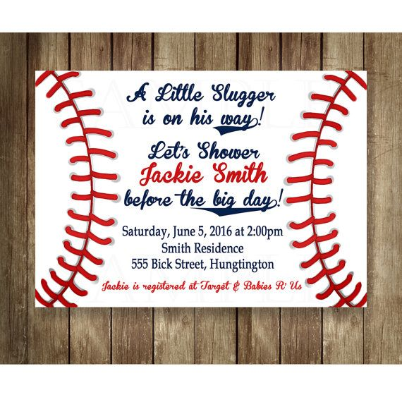 best  baseball baby showers ideas on   baseball, Baby shower