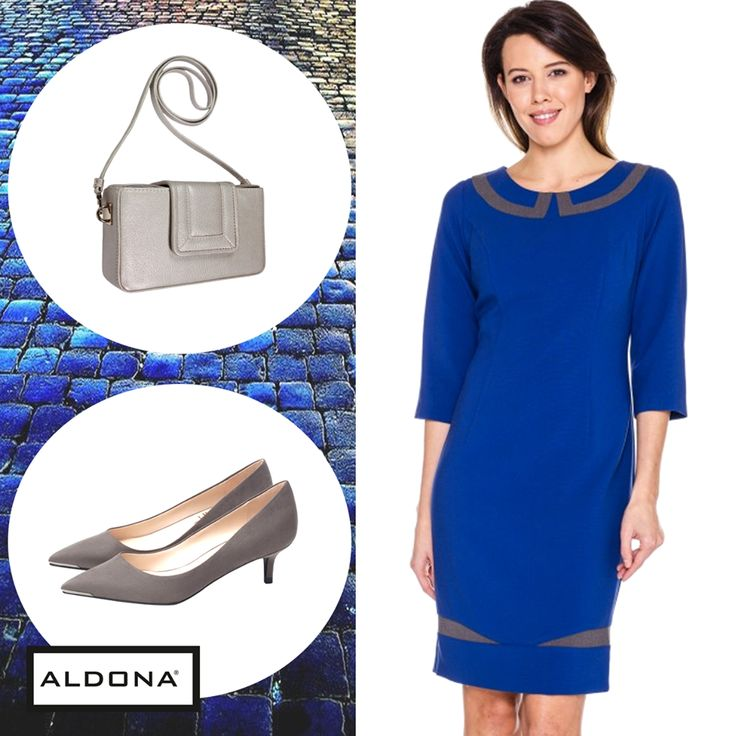 #aldona #fashion #aw2016 #fw2016 #outfit #inspirations #royalblue #dress