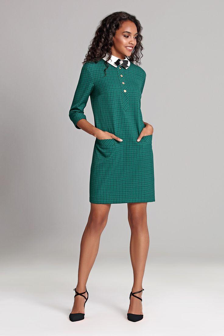 Платье делового стиля.