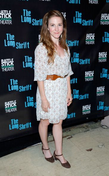 Sarah Utterback attends 'The Long Shrift' opening night at Rattlestick Playwrights Theater on July 13, 2014 in New York City