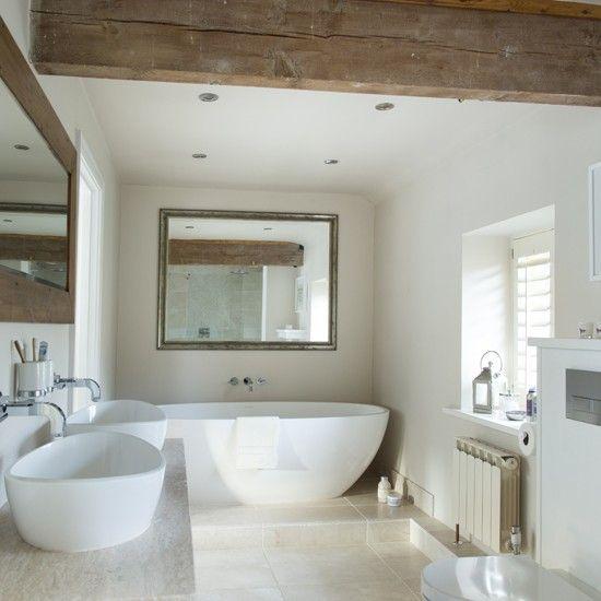 Barn bathroom Luxury bathroom ideas housetohomeuk