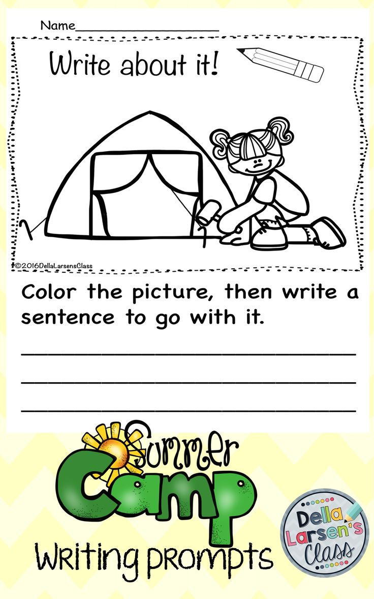 summer writing prompts Writing prompt 3: story sparks - first person creative writing one summer morning, i went for a walk and saw distribute the worksheet and encourage the children to complete the summer story.