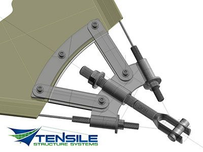 Engineering and Design Tensile Structure Systems -  sc 1 st  Pinterest & 166 best Tensile structures images on Pinterest | Tensile ...