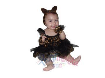 Bebek Leopar Kız Kostümü
