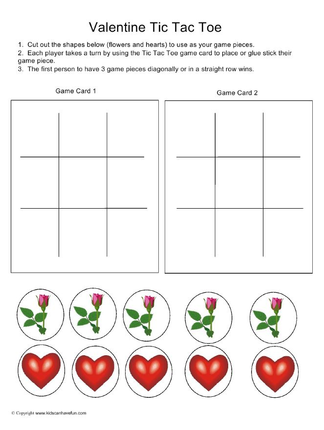 Best Tic Tac Toe Game Printables Images On   Tic Tac