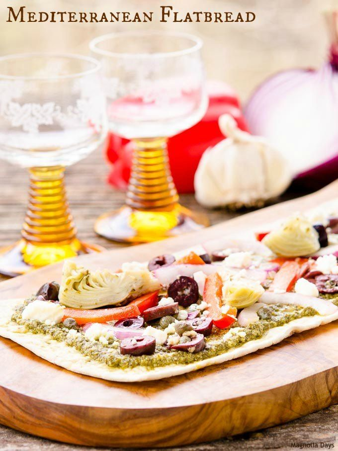 85 best greek food recipes images on pinterest greek food mediterranean flatbread forumfinder Gallery
