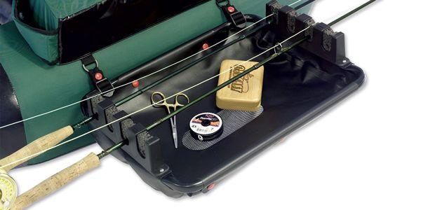 Float Tube Rod Rack