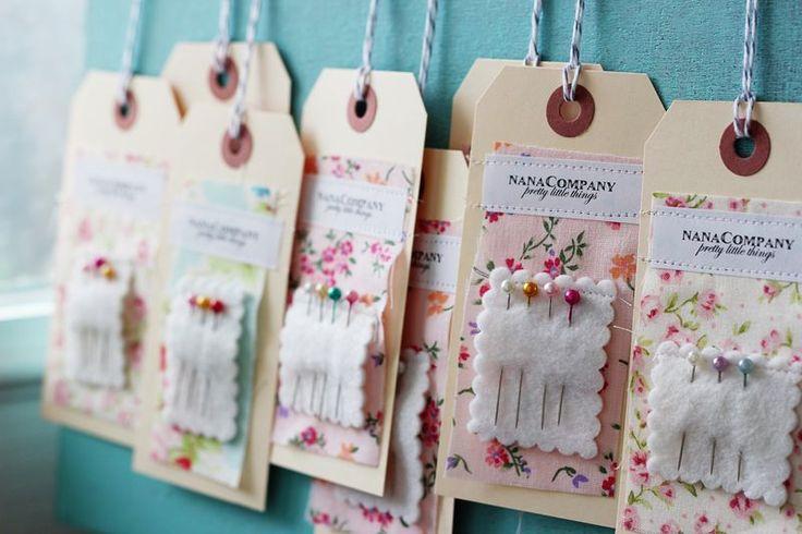 DIY needlekeep hangtags by nanaCompany