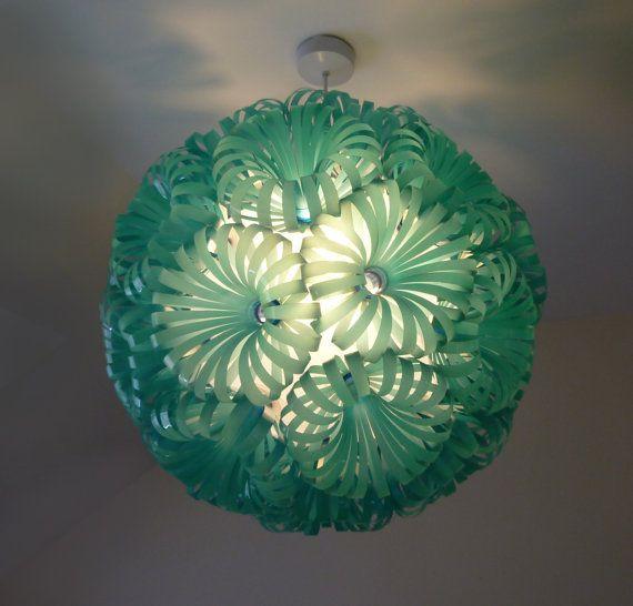 30 - Lámpara de techo de plástico de la botella de coca-cola