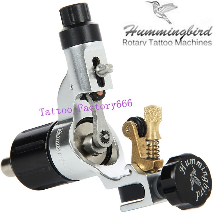 (123.25$)  Know more - http://aiwmp.worlditems.win/all/product.php?id=32540046629 - Original Hummingbird Silver Gen 2 Rotary Tattoo Machine Swiss Motor Liner Shader Supply Free RCA Cord.