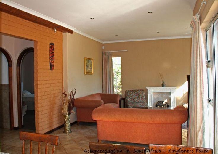A lounge at Kingfishers Farm. http://www.accommodation-in-southafrica.co.za/Gauteng/Magaliesburg/Kingfishers.aspx