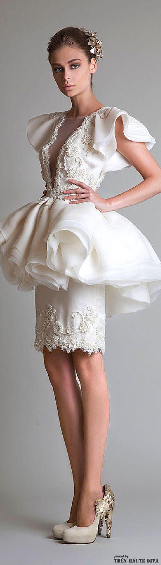 Krikor Jabotian Fall 2013 Couture — Closure Collection