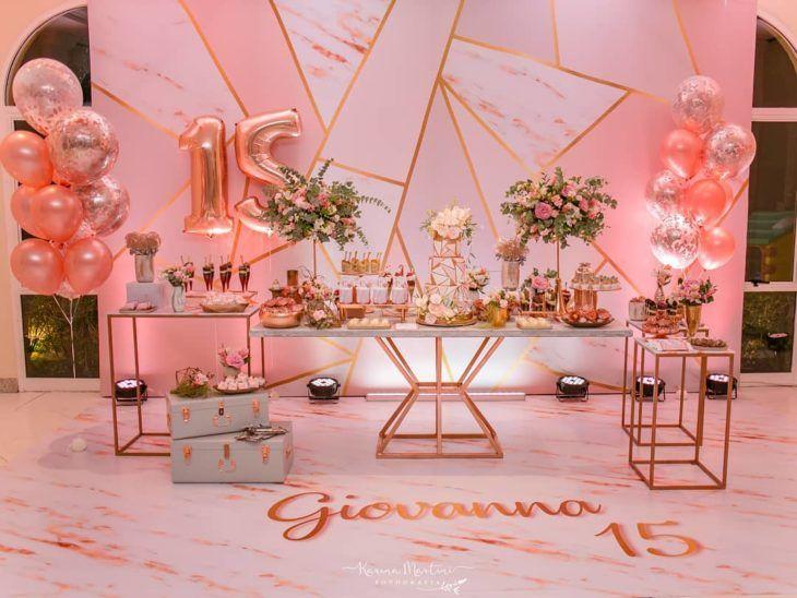 Festa De 15 Anos Simples 100 Decoracoes Encantadoras E Acessiveis