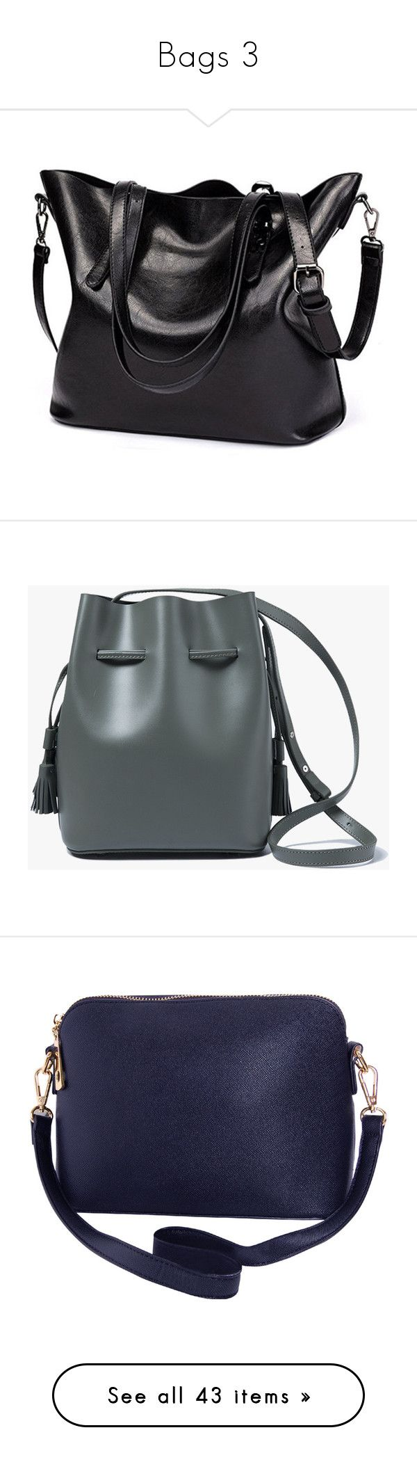 """Bags 3"" by fangsandfashion ❤ liked on Polyvore featuring bags, handbags, shoulder bags, black, shoulder strap handbags, crossbody purses, fringe purse crossbody, nine west shoulder bag, hand bags and bolsas"