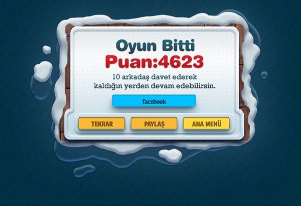 AVM'DE PINBALL Facebook Game by Mete Eraydın, via Behance